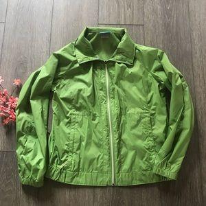 Columbia women's rain jacket coat green size XL